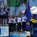 Staffetta bronzo podio Italia